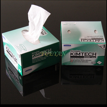 280pcs/Box KimTech Brand Fiber Cleaning Paper Fiber Kimwipes Fiber Wiping Paper Fiber End Face Cleaning Wipes