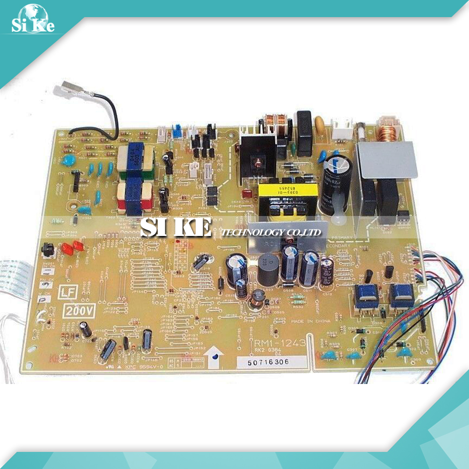 LaserJet Printer Engine Control Power Board For HP 1160 1320 1320N RM1-1243 RM1-1242 HP1160 HP1320  Voltage Power Supply Board дрель шуруповерт bort bab 14ux2li fdk