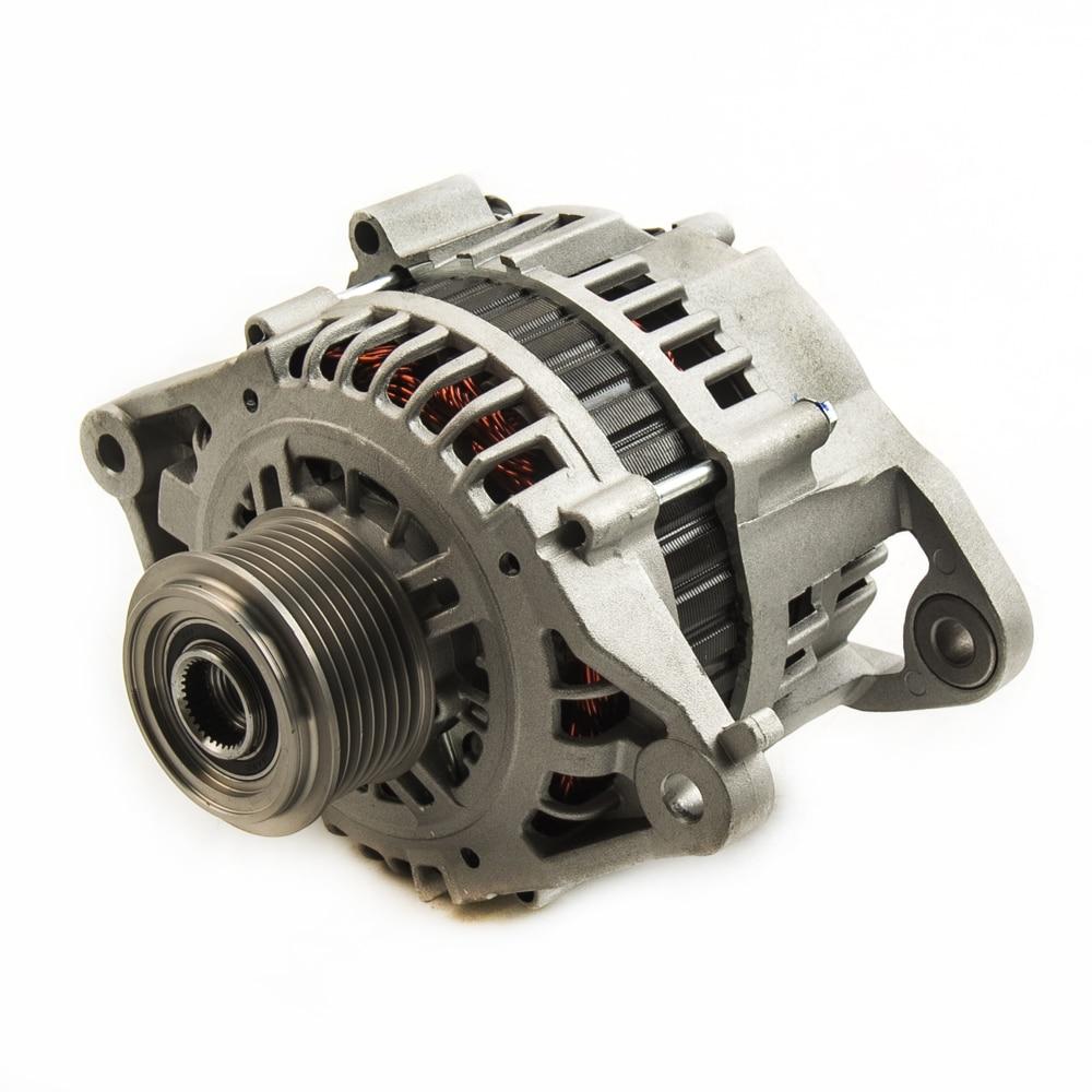 12V 100A Alternator fit For Nissan Patrol GU Y61 engine ZD30DDTi 3.0L Diesel 01-15 LR160-745 LR190-752 23100-VC100