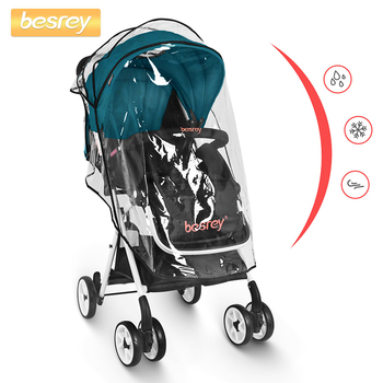 Kinderwagen Für Kinder | Besrey Neugeborenen Baby Kinder Kinderwagen Infant Buggy Baby Kinderwagen Faltbaren Kinderwagen + Regen Abdeckung Kinder Wagen Kleinkind Kinderwagen