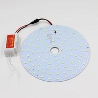 18W 110V 220V 240V Magnetic LED Ceiling Light LED Board Panel Circular Tube Lights Replace To