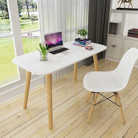Office Desks Furniture Commercial Oak Solid Wood Modern Computer Desk Whole Can Customize Size 2017