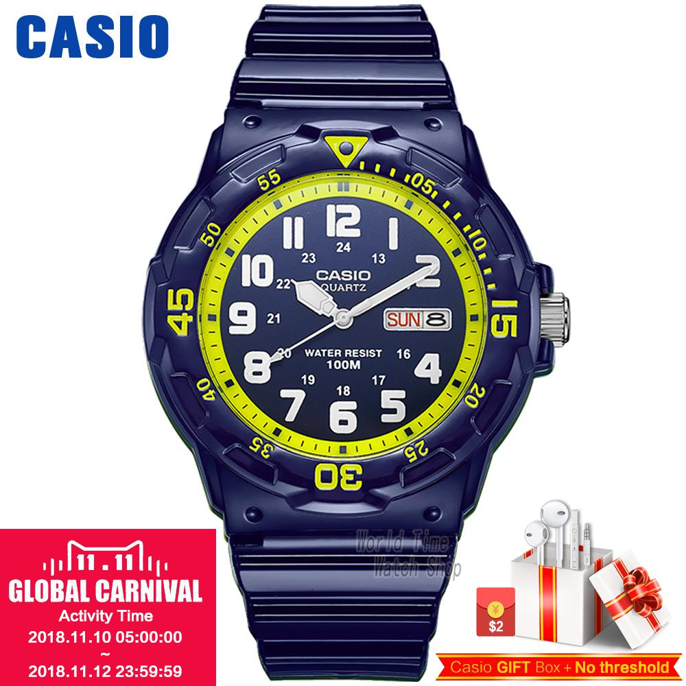 Casio watch Simple sports fashion leisure waterproof watch MRW-200HC-2B MRW-200HC-7B2 casio mrw s300h 8b