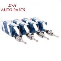 NEW 4Pcs Engine Fuel Injector Valve Nozzle 06H 906 036 Q For VW Golf Passat Audi A3 A4 A5 TT Skoda Seat 1.8TFSI CDAA 0261500160
