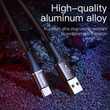 Baseus USB Type C Cable For Samsung S10 S9 S8 A50 Xiaomi Redmi Note 7 Fast Charging USB-C Charger Mobile Phone USBC Type-C Cable
