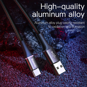 Image 4 - Baseus USB Type C Cable For Samsung S20 S10 Plus Xiaomi Fast Charging Wire Cord USB C Charger Mobile Phone USBC Type C Cable 3m