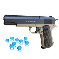 Toys Gun M1911 Airsoft Air Guns Toy Manual Load Pistol Rifle Weapon 7 8MM Crystal Water Bullets Kids Outdoor Game CS Cosplay