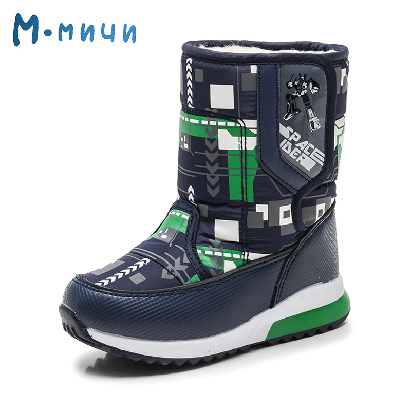 MMNUN Warm Winter Shoes for Boys Kids Brand New Winter Boots for Kids Toddle Boys High Quality Boys Winter Shoes Boots Size26-31