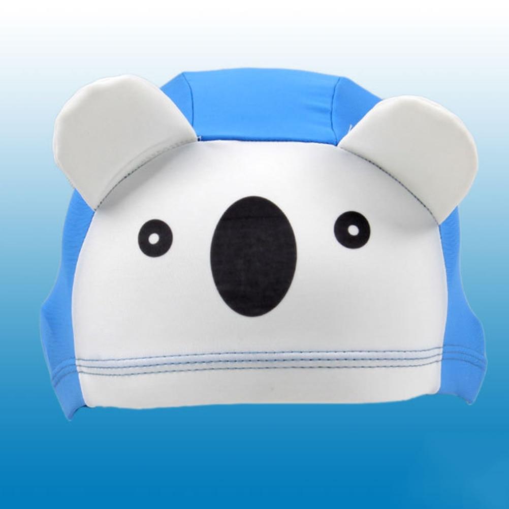 Дышащая милая очаровательная комфортная шапочка для купания для детей детский Дайвинг внешний бассейн
