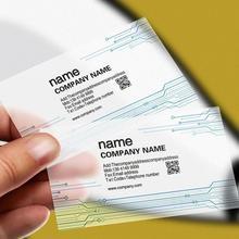 Печать 200 шт ПВХ удостоверения личности прозрачные пластиковые круглые визитные карточки дизайн визитные бумажные карточки печать на заказ Водонепроницаемый 85*54 мм