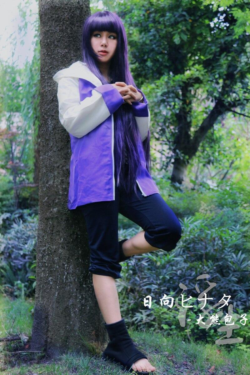 Free Shipping Naruto Hinata Hyuga Ninja Uniform Anime ...