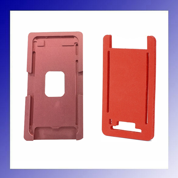 1set Precision Aluminium Mould For iPhone 6G 6s 4.7 Laminator Mold Metal for The Front Glass with Frame Location for OCA User 1set glass