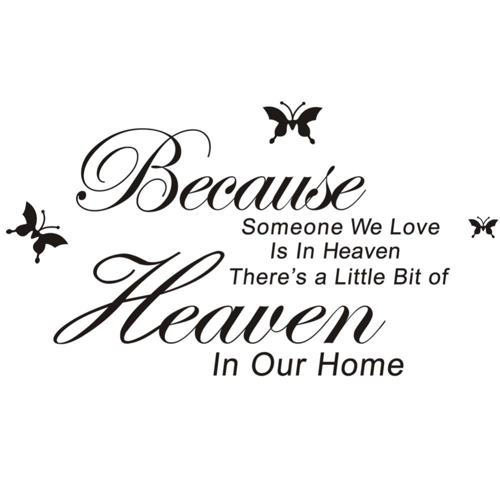 Hot Sale Believe In Yourself Home Decor Creative Quote Wall Sticker Decal Decorative Ade ...