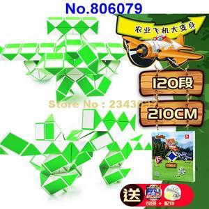 Image 5 - Regla mágica de 210cm de 120 segmentos, cubo giratorio de serpiente, rompecabezas, juguete educativo para niños 806079