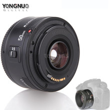 YONGNUO YN50mm f1.8 YN EF 50mm f/1.8 AF Lens YN50 Aperture Auto Focus Lens W/ND Filter for Canon EOS 60D 70D 5D2 5D3 600D Camera(China)