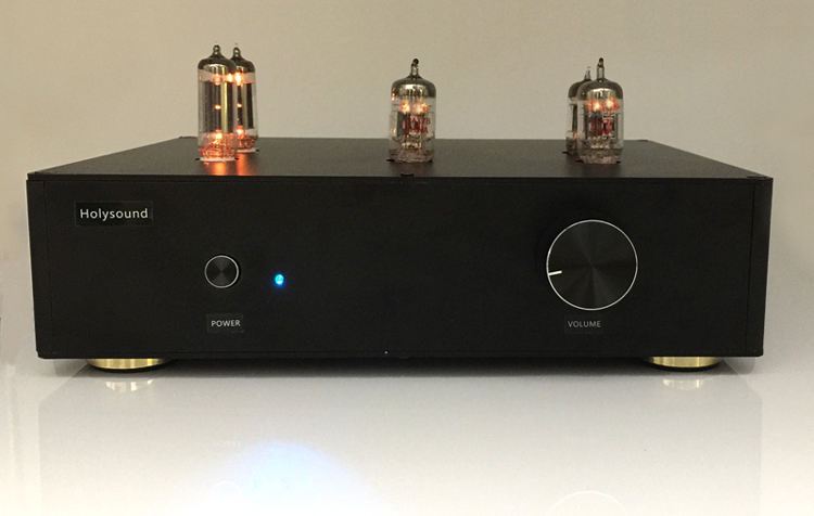 Finished D3 Tube Preamplifier HIFI 12AU7+ECC83 Vacuum Tube Pre-amp 2018 NEW 1pcs high quality little bear match 6n11 12au7 6922 vacuum tube amplifier hifi pre amp new