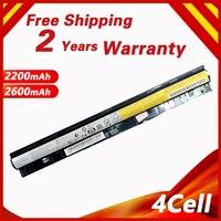 Bateria para Lenovo L12L4A02 L12M4E01 Golooloo L12L4E01 L12M4A02 L12S4A02 L12S4E01 G40 45 G50 30 G50 70 G50 75 G505S G400S G500S Baterias p/ laptop     -