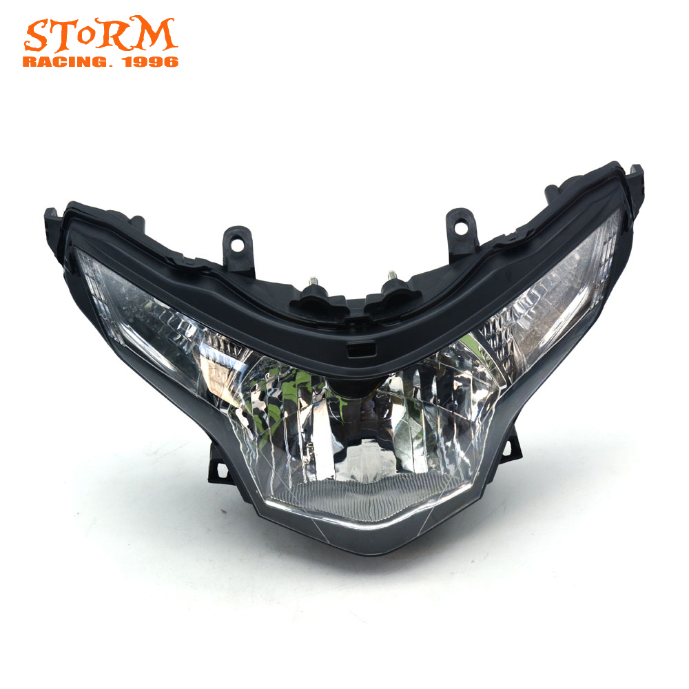 Motorcycle Head Light Headlamp For Honda CBR250 CBR 250 2008-2012 2008 2009 2010 2011 2012 Street Bike motorcycle accessories throttle line cable wire for honda cbr250 cbr 250 cbr19 mc19