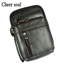 Genuine Leather Bags for men Fashion Casual Messenger Bag Men Single Shoulder Crossbody Bag Handbag Male Phone Pouch Wallet Bags(China)