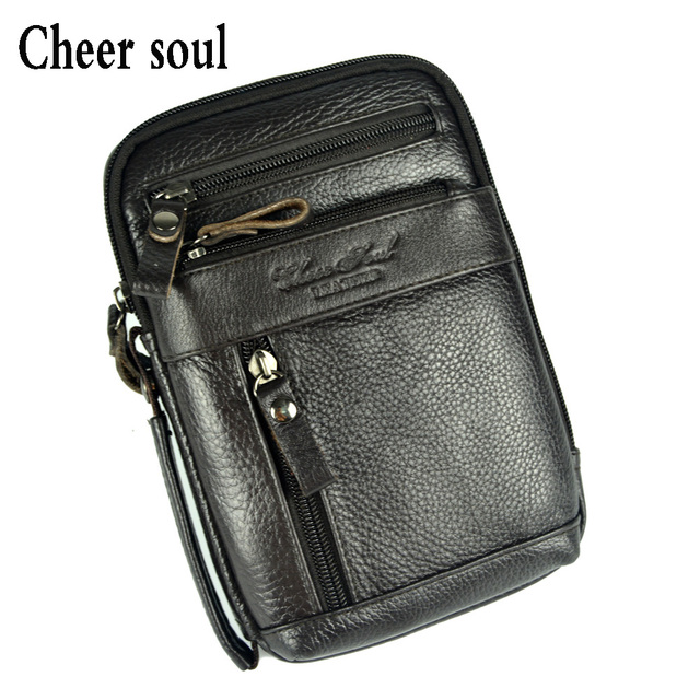 0afe561086 High quality goods lead the tide genuine leather bag for men fashion casual  clutch messenger bag