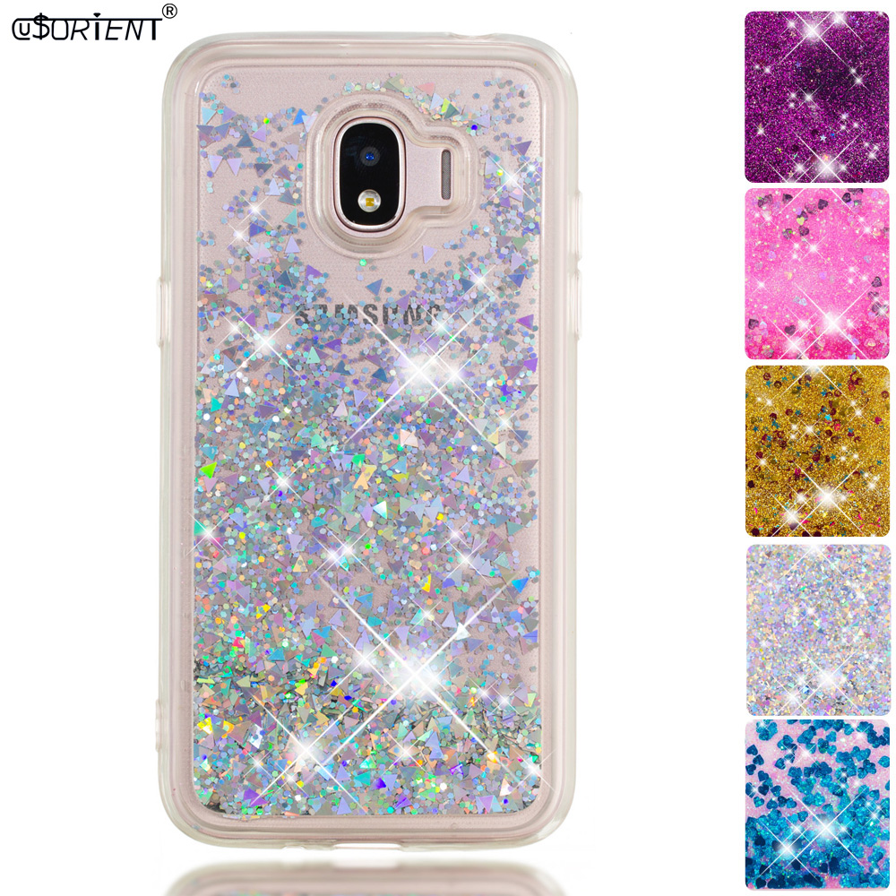 Bling Glitter Case For Samsung Galaxy J2 Pro 2018 Grand Prime Pro Dynamic Liquid Quicksand Phone Case Sm-j250f/ds Sm-j250m Funda Cellphones & Telecommunications