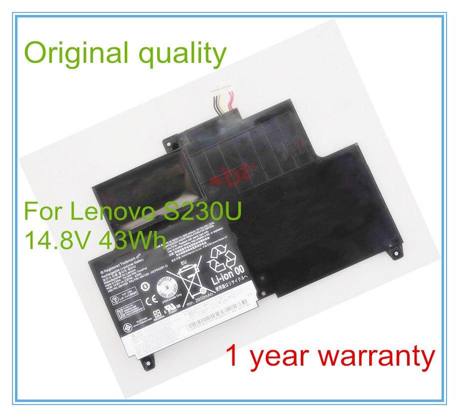 ФОТО Original  45N1169 45N1168 2870mAh laptop battery for  S230U