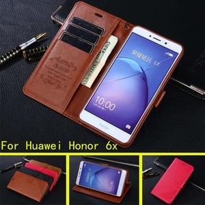 Image 1 - עבור Huawei Honor 6X 7X 8X Y8P Y6P Y5P מקרה כיסוי Flip עור מפוצל עבור P חכם 2019 2020 z 8S Y6 P30 הכבוד 30 לייט X10 9A 9X
