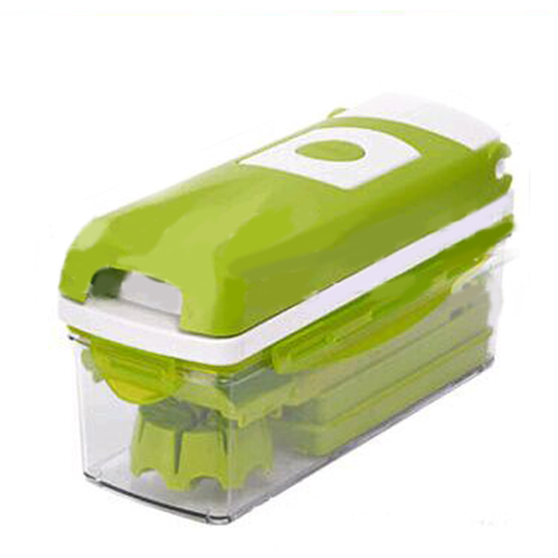 12 in 1 Multifunction Vegetable Shredder set with Food Container Fruits Cutter Slicers Peeler w/ Stainless Steel Blades Graters