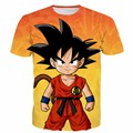 Men Women Summer Casual Tee Shirt Hipster 3D t shirt Cute Kid Goku t shirts Dragon Ball Tees Male Boys Anime tshirts tops