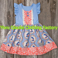 Persnickety remake outfits Wholesale Little Girls Children Boutique Clothing polka dots Spring Cotton Outfit Kids Easter day