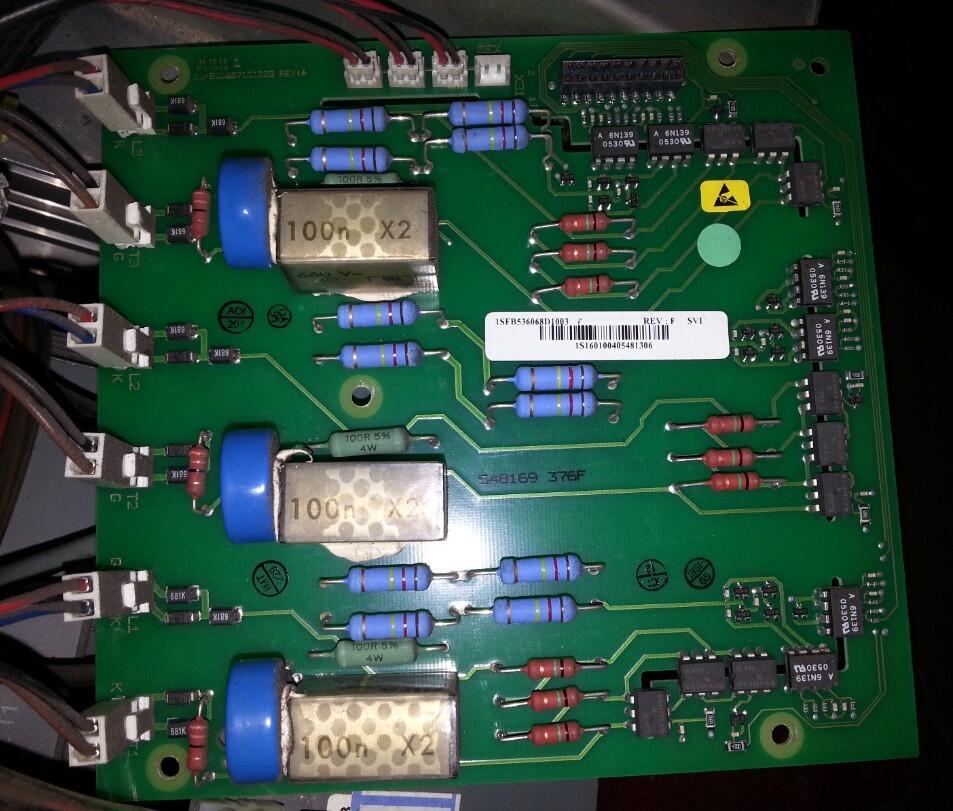 Soft start PSTB high pressure plate/driver board /1SFB536068D1013 klv s40a10 high pressure plate backlight driver board kls 400ssa kls400ssb