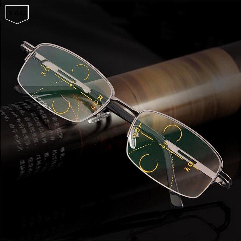 1.56 lentille Progressive lentille asphérique Anti-reflet lentille multi-focale Addition Progressive lentille varifocale regarder près de voir loin