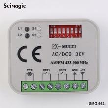 2 pcs Aprimatic BENINCA BERNER DITEC LIFTMASTER V2 compatível FAAC HORMANN remoto rolling code controle remoto 433.42 mhz receptor