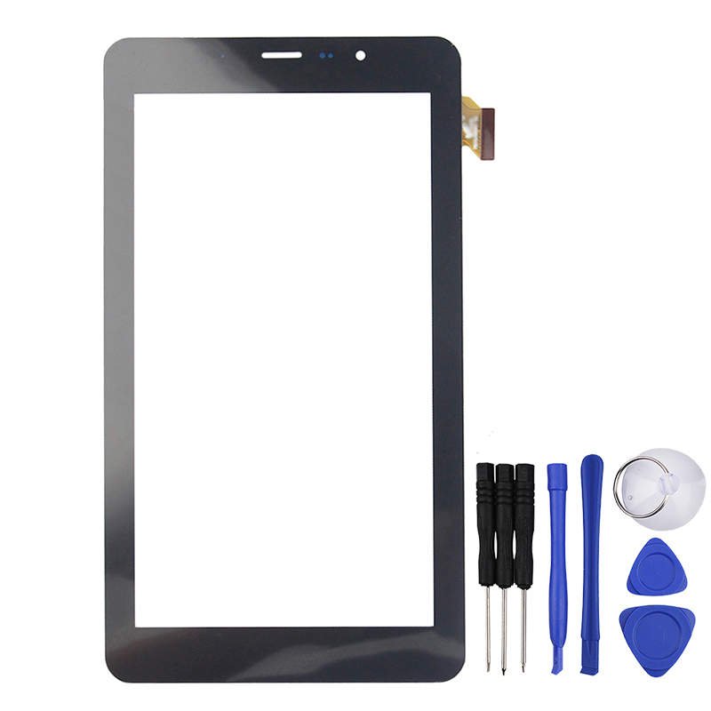 New 7 inch for teXet TM-7058 X-pad STYLE 7.1 3G Touch Screen Touch Panel Digitizer Glass Sensor Replacement tempered glass new touch screen panel digitizer for 7 texet tm 7876 tm 7876 x pad quad 7 3g tablet glass sensor replacement
