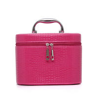 Fashion female makeup bag PU stone travel makeup bags cosmetic cases high quality organizer make up bag ladies cosmetic bags
