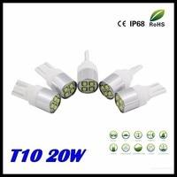 4pcs t10 w5w 194 4 led 20w cree chips pure white 6000k ceramic base led car.jpg 200x200