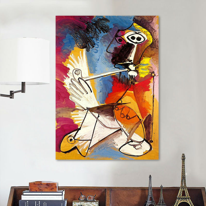 coloring by numbers  Picasso Oil painting abstract oil digital paint modular