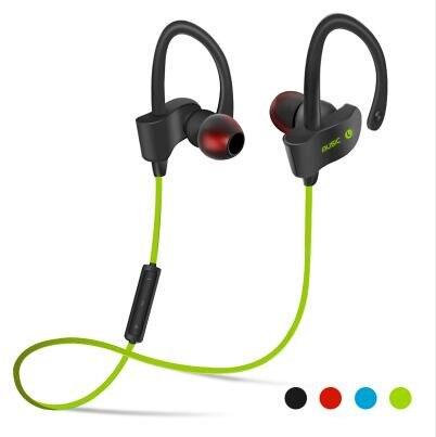 Sports Stereo Bluetooth Wireless Headset Bass Headphone Ear hook Earphone with Mic for All Phone 2016 new best quality wireless bluetooth headset bluetooth v4 1 stereo sports running ear hook earphone with mic for all phones