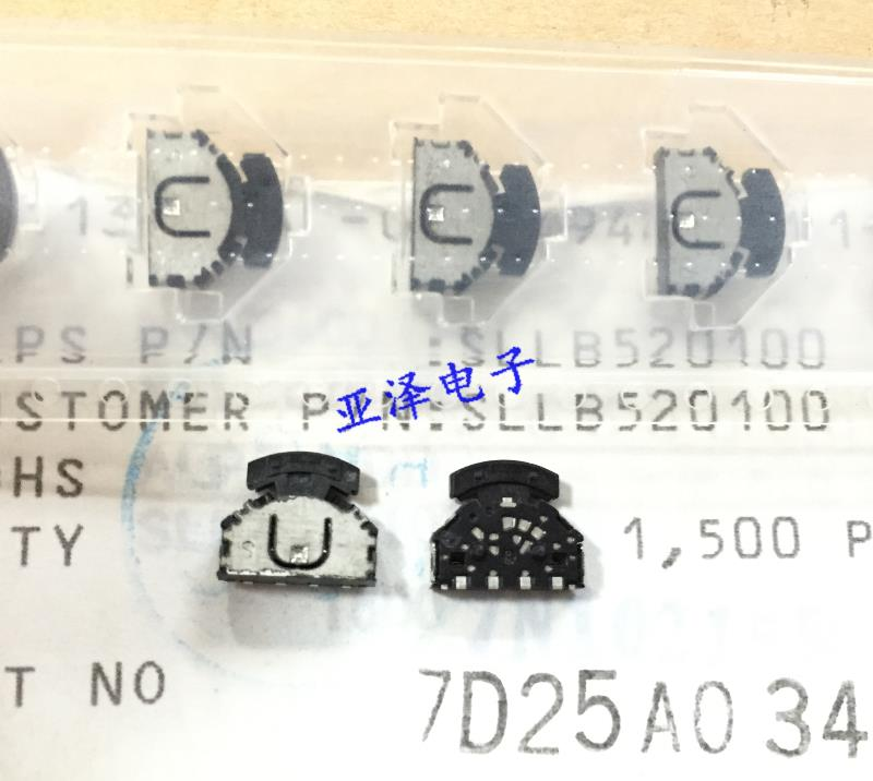 20PCS/LOT ALPS Alps SLLB520100 patch wheel switch, three direction left and right multi-function switch