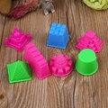7 en 1 niños pulpo molde herramientas arena juguete de la playa pala cuchara conjunto play hora del baño freeshiping
