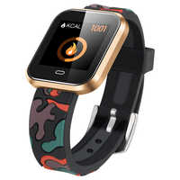 Smart Watch Men Women Fitness Heart Rate Monitor Blood Pressure Touch Pedometer Bluetooth Intelligent Sports Rubber Smart Band