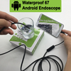 R N 1M 2M 5M 10M 5 5mm Endoscope Camera USB Android Endoscope Waterproof 6 LED