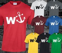 W ANCHOR T SHIRT MENS S-3XL New Shirts Funny Tops Tee Unisex  High Quality Casual free shipping