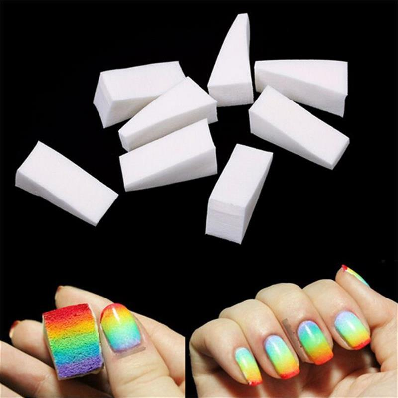 Hot Nail Tools Necessary DIY Creative Gradient Sponge Block Star Nail Sponge Seal  8PCS/lot
