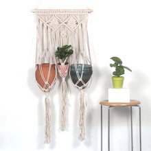 New decorative woven tapestry basket Nordic home wall decoration bohemian