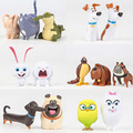 14pcs/set The Secret Life of Pets Movie Animal Action Figure Toys