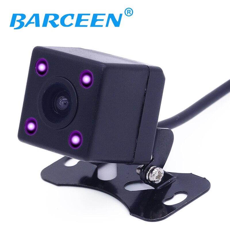 Wide Viewing Angle Waterproof Reversing Rear View Camera 4 IR Night Vision Car Rear View Camera CCD imaging Sensor