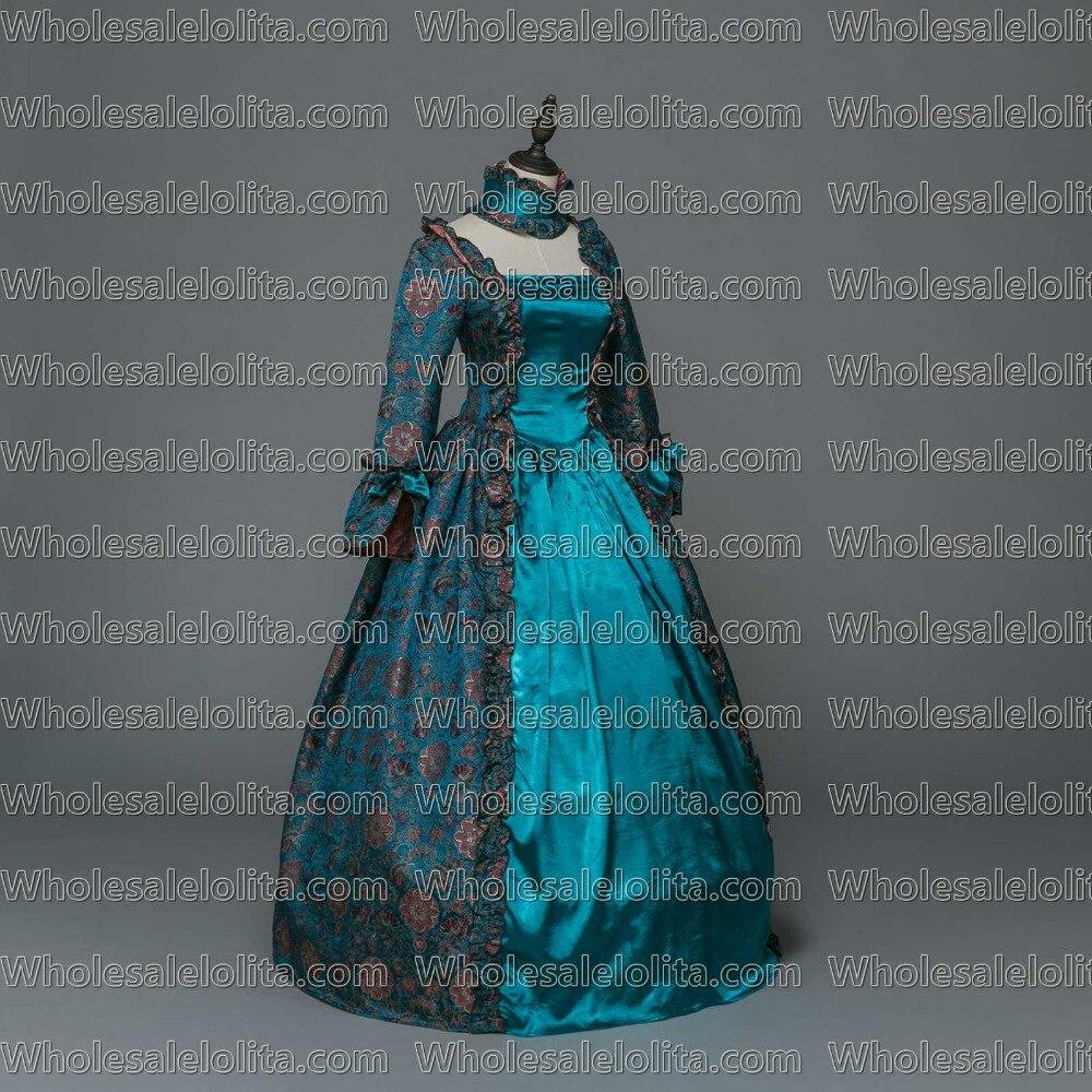 891748f63 Gótico medieval Vestidos renacimiento brocado vestido Steampunk reenactment  ropa en Disfraces de cine de La novedad y de uso especial en AliExpress.com  ...