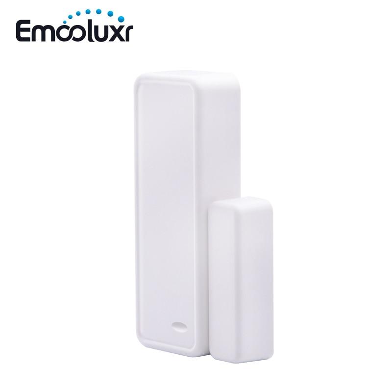 3pcs 433MHz EV1527 Two-way Wireless Intelligent Door/window Sensor APP Control Wifi Door Open Detector For Alarma Casa G90B Plus