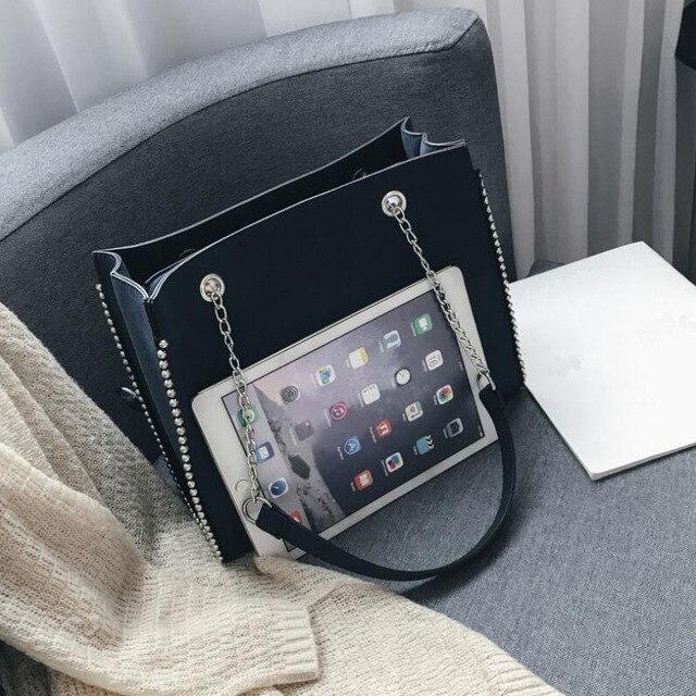 CROWDALE Chain Shoulder Bag  3